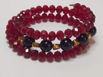 Picture of Beads Memory Bracelet . Handmade