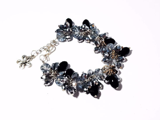 Picture of Woman's Bracelet  with Crystal beads in Various Colors Handmade