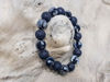 Picture of Men's  Bracelet with lava stone beads and hematite  Handmade