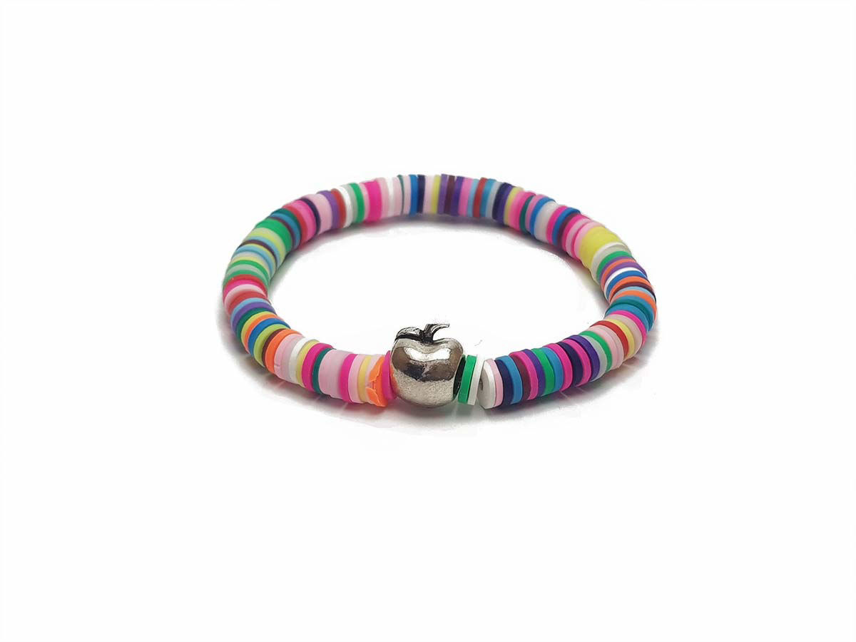 Picture of Candy Loops. Colorful bracelets.